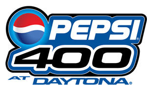 Pepsi 400 at Daytona Logo Vector