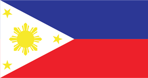 Philippines Flag Logo Vector