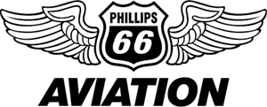 Phillips-66 Aviation Logo Vector