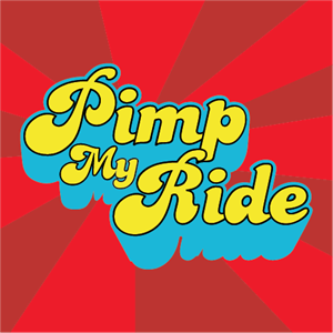 Pimp My Ride Logo Vector