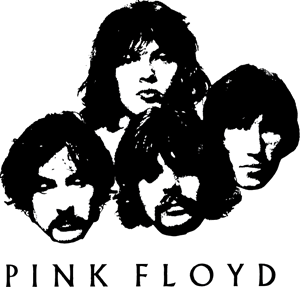 Pink Floyd Faces Logo Vector