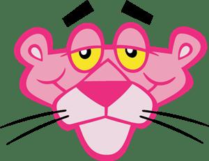 pink panther logo vector eps free download