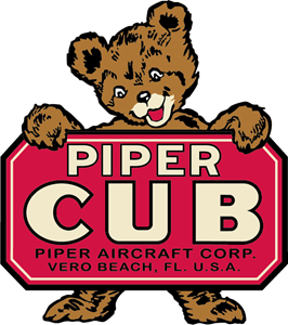Piper Cub (Antique) Logo Vector