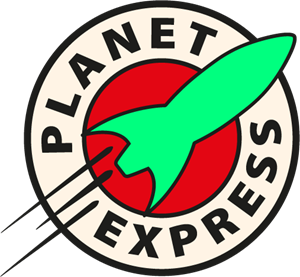 Planet Express Logo Vector
