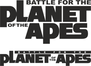 Planet Of The Apes - Battle For The Logo Vector