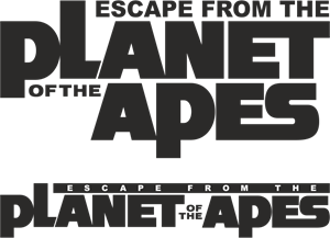 Planet Of The Apes - Escape From The Logo Vector