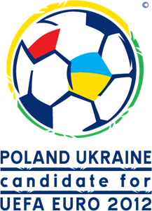 Poland Ukraine candidate for EURO 2012 Logo Vector