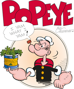 Popeye the Sailor Logo Vector