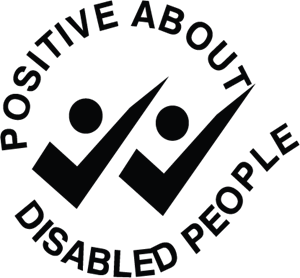 Positive About Disabled People Logo Vector