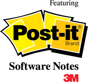 Post-it Logo Vector