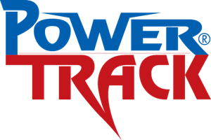 Power Track Logo Vector