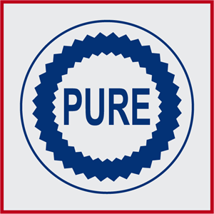 Pure Oil Logo Vector