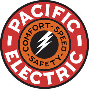 Pacific Electric Railway Company Logo Vector