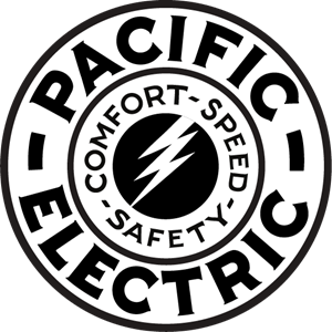 Pacific Electric Railway Logo Vector
