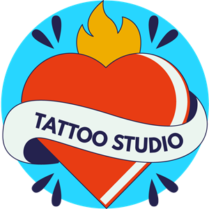 Pack of tattoo studio Logo Vector