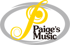 Paige's Music Logo Vector
