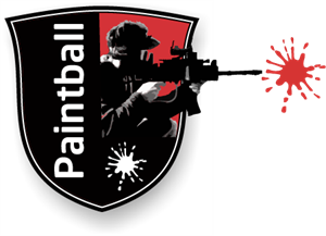 Paintball Hoorn Logo Vector