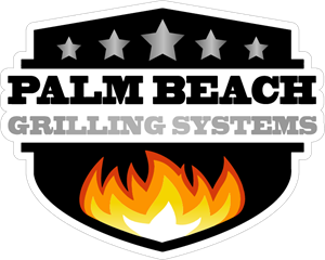 Palm Beach Grilling Systems Logo Vector