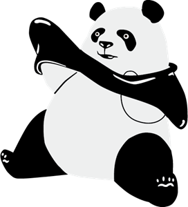 panda logo vector eps free download