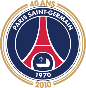 Paris Saint-Germain - 40 ans Logo Vector