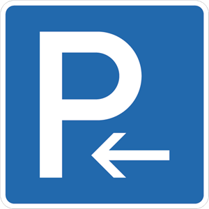 Parking left Logo Vector