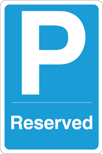 Parking reserved Logo Vector