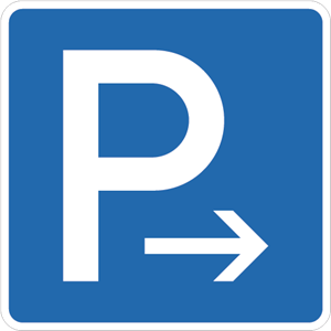Parking right Logo Vector
