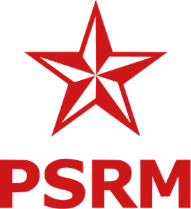 Party of Socialists of the Republic of Moldova Logo Vector