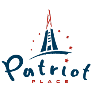 Patriot Place Logo Vector