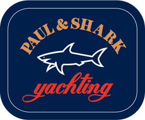 Paul and Shark Yachting Logo Vector