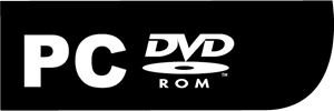 PC-DVD-ROM Logo Vector