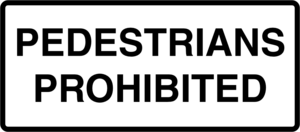Pedestrians prohibited Logo Vector