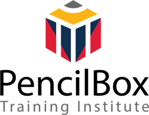 PencilBox Training Institue Logo Vector
