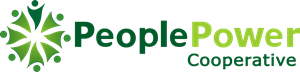 People Power Cooperative Logo Vector