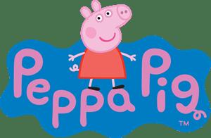 Peppa pig logo vector g free download peppa pig logo vector voltagebd Images