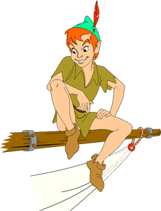 Peter Pan Logo Vector