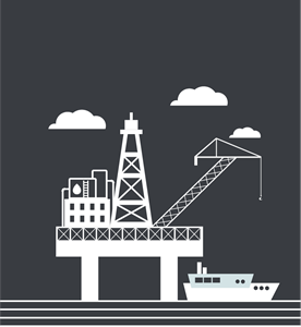 petroleum industrial Logo Vector