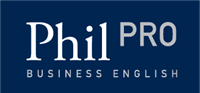 Phil PRO Business English Course Logo Vector