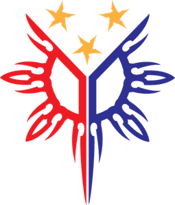 Philippine tribal sun Logo Vector
