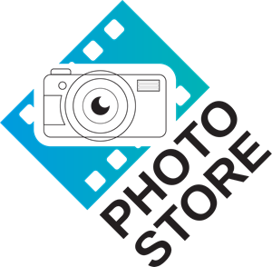 Photo store Logo Vector