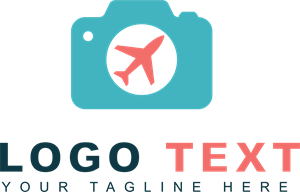 Photo travel Logo Vector