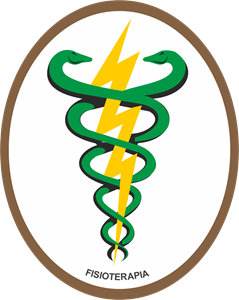 Physiotherapy Brazil - Fisioterapia Logo Vector