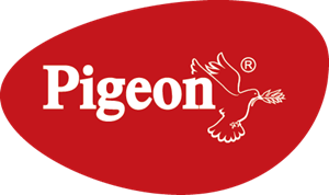 Pigeon Kitchen Appliances Logo Vector