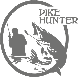 Pike Hunter Logo Vector