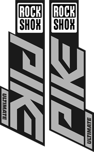 PIKE Ultimate Rock Shox Logo Vector
