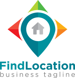 Pin map Logo Vector