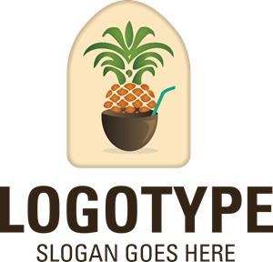 Pineapple Logo Vector
