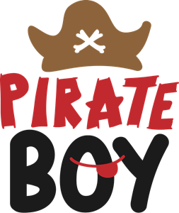 PIRATE BOY Logo Vector