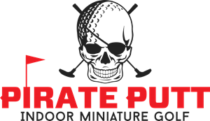 Pirate Putt Logo Vector