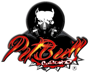 Pitbull Customs Cars Logo Vector